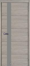 Дверь Краснодеревщик 7 01 (стекло Мателак сильвер) с фурнитурой, Дуб пепельный sincrolam