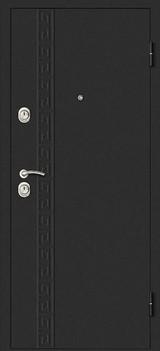 Дверь Дверной континент Сити-1 Графит  Беленный дуб