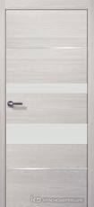 Дверь Краснодеревщик 7 03М (молдинг, стекло белое) с фурнитурой, Пиния sincrolam