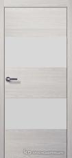 Дверь Краснодеревщик 7 05 (стекло белое) с фурнитурой, Пиния sincrolam