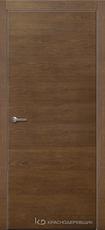 Дверь Краснодеревщик 700 с фурнитурой, натуральный шпон Дуб кофе