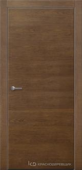 Дверь Краснодеревщик 7 00 с фурнитурой, Дуб кофе натуральный шпон