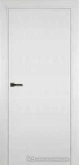 Дверь Краснодеревщик 7 00 с фурнитурой, Эмаль белая натуральный шпон