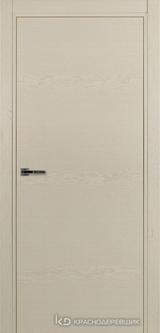 Дверь Краснодеревщик 7 00 с фурнитурой, Эмаль жемчужная натуральный шпон