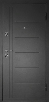 Дверь Дверной континент Сити-С Мокрый асфальт  Венге
