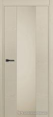 Дверь Краснодеревщик 704 (стекло серое) с фурнитурой, натуральный шпон Эмаль жемчужная