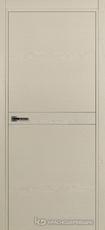 Дверь Краснодеревщик 707 (молдинг) с фурнитурой, натуральный шпон Эмаль жемчужная