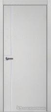 Дверь Краснодеревщик 707 (молдинг) с фурнитурой, натуральный шпон Эмаль светло-серая