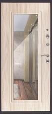Дверь Дверной континент Сити-зеркало Мокрый асфальт  Дуб сонома
