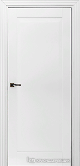 Дверь Краснодеревщик 73 1 с фурнитурой, Эмаль белая MDF