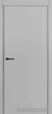 Дверь Краснодеревщик 730 с фурнитурой, MDF Эмаль светло-серая