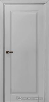 Дверь Краснодеревщик 73 1 с фурнитурой, Эмаль светло-серая MDF