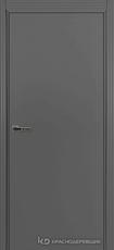 Дверь Краснодеревщик 730 с фурнитурой, MDF Эмаль серая