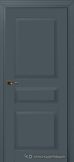 Дверь Краснодеревщик 733 с фурнитурой, MDF Эмаль серая