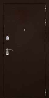 Дверь Дверной континент Гарант 100 Античная медь  Беленный дуб